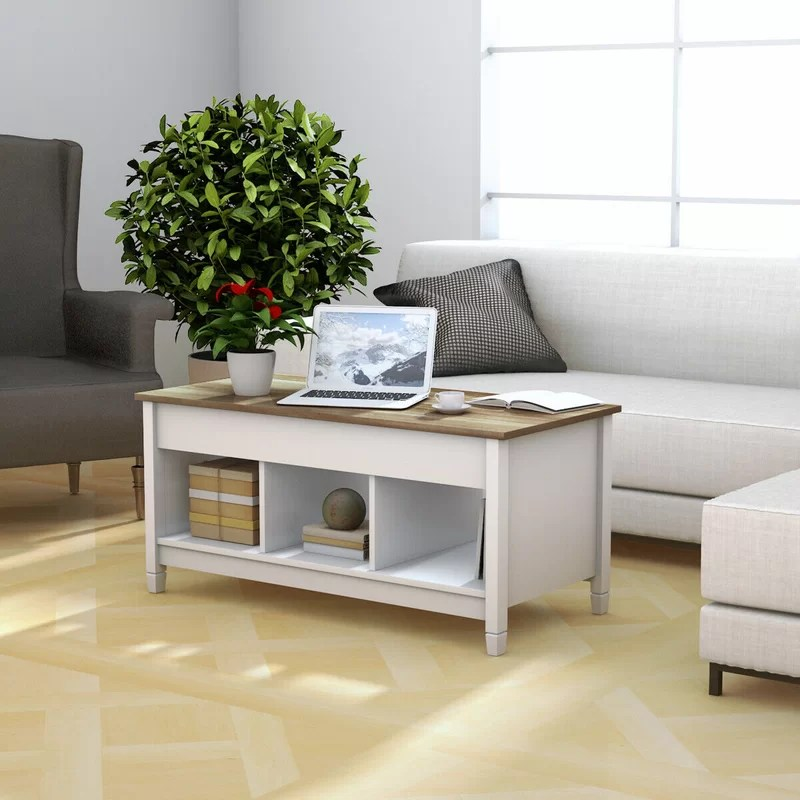 bukovany lift top coffee table with storage