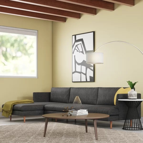 modern contemporary serta upholstery sectional