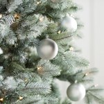 Silver White Christmas Ornaments You Ll Love In 2021 Wayfair