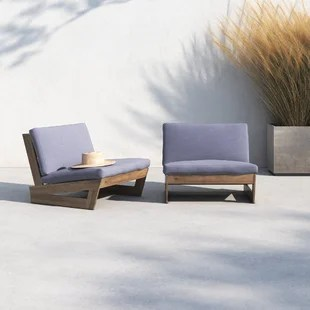 patio chair with cushions set of 2