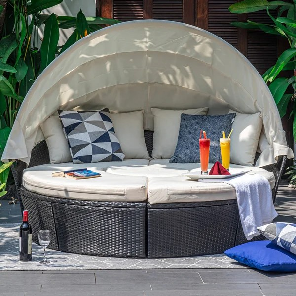 outdoor round couch
