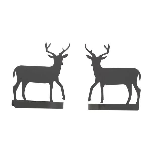 deer antler curtain tie backs