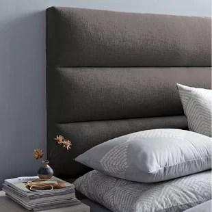 tete de lit tapissier a panneau ajustable dawna