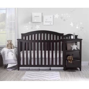 berkley 4 in 1 convertible crib and changer