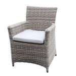 Ivy Bronx Searle Outdoor Wicker Patio Dining Chair With Cushion Wayfair
