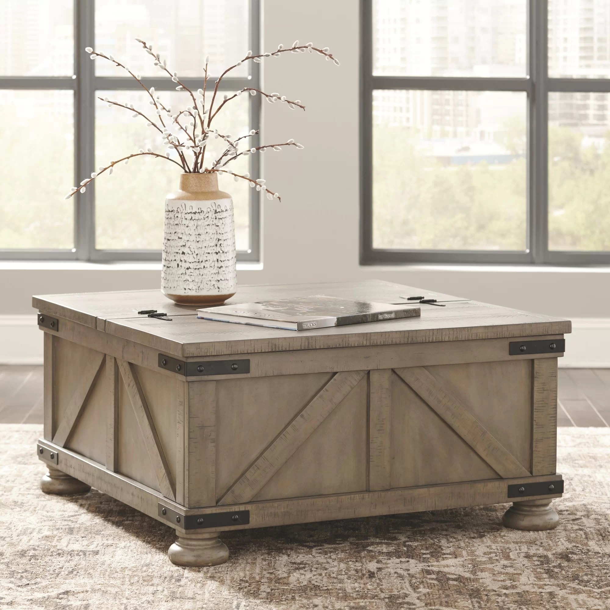 trunk storage coffee tables free