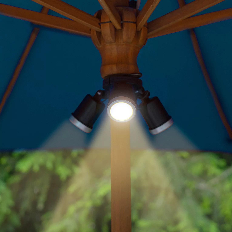 theron solar 3 in 1 patio umbrella lighting