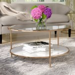 Gold Round Coffee Tables You Ll Love In 2020 Wayfair