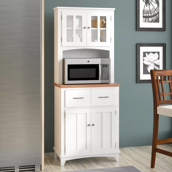 corner microwave stand