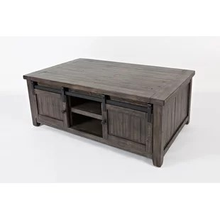 westhoff coffee table with storage