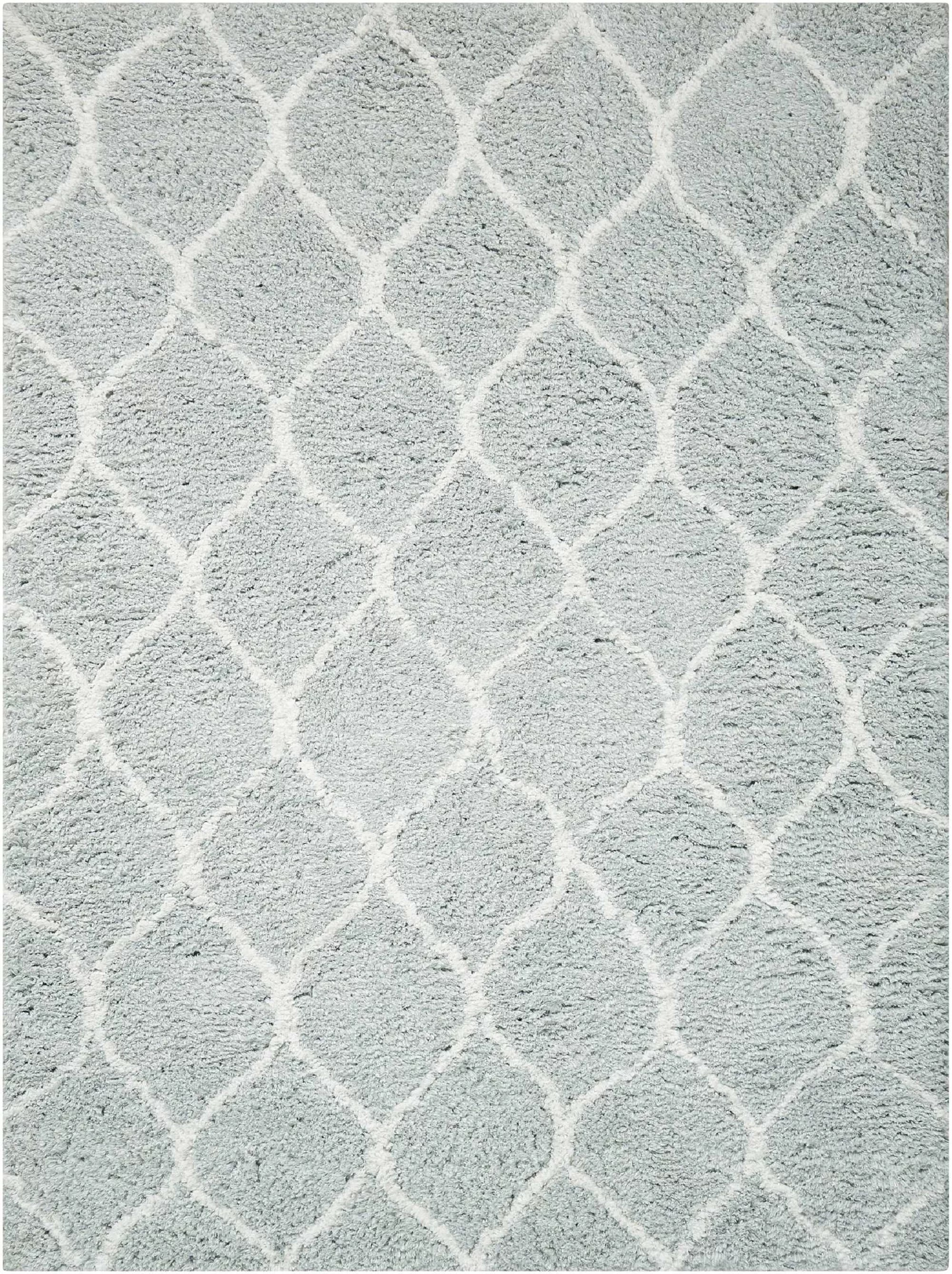 Modern Rustic Interiors Beck Hand Tufted Gray White Area