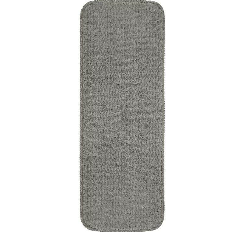Tucker Murphy™ Pet Beattie Soft Solid Sh*G Carpet Stair Tread   Thick Carpet Stair Treads   Non Slip   Cut Pile   Bullnose Carpet   Slip Resistant   Flooring
