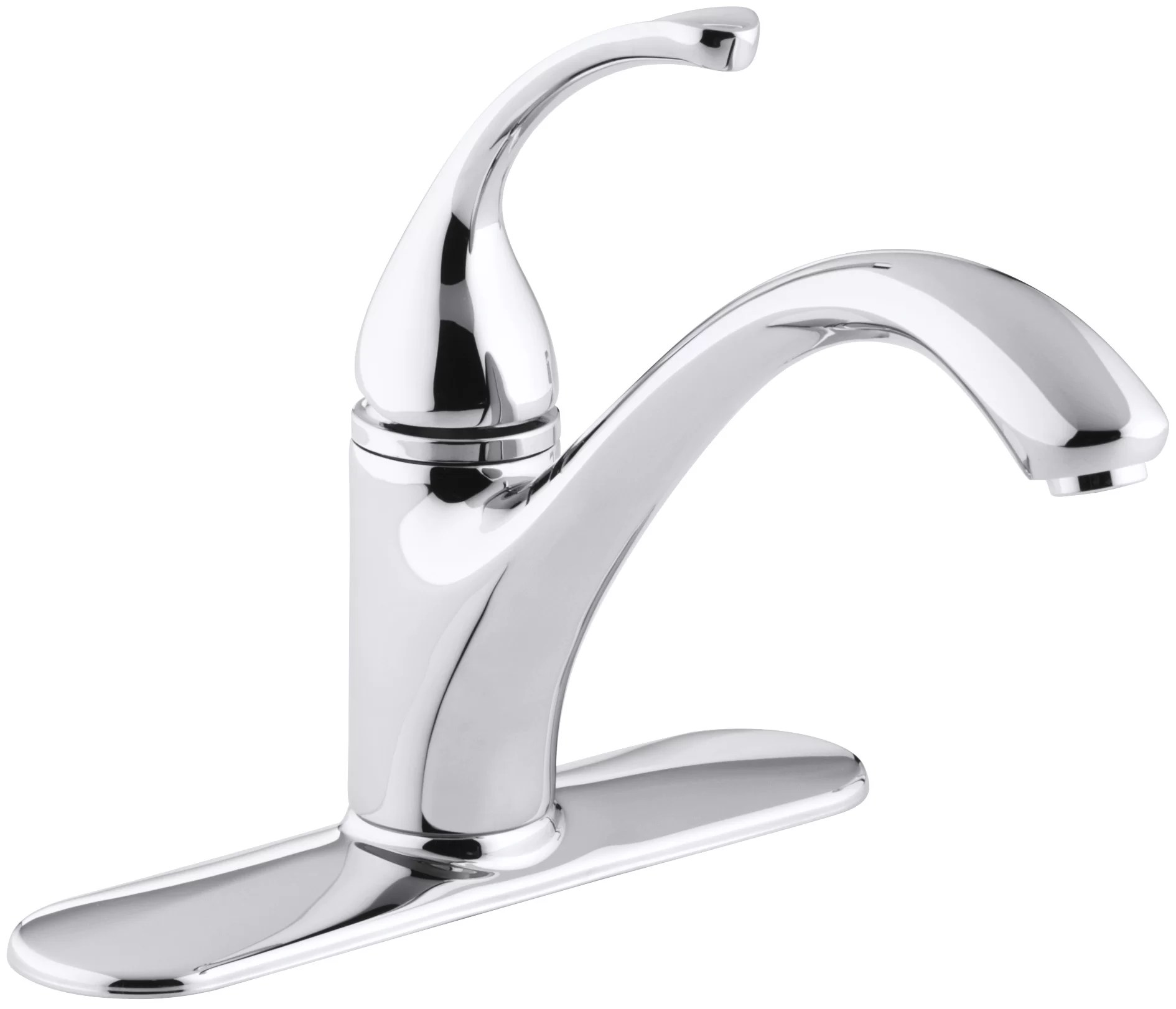 forte 3 hole kitchen sink faucet with 9 1 16 spout