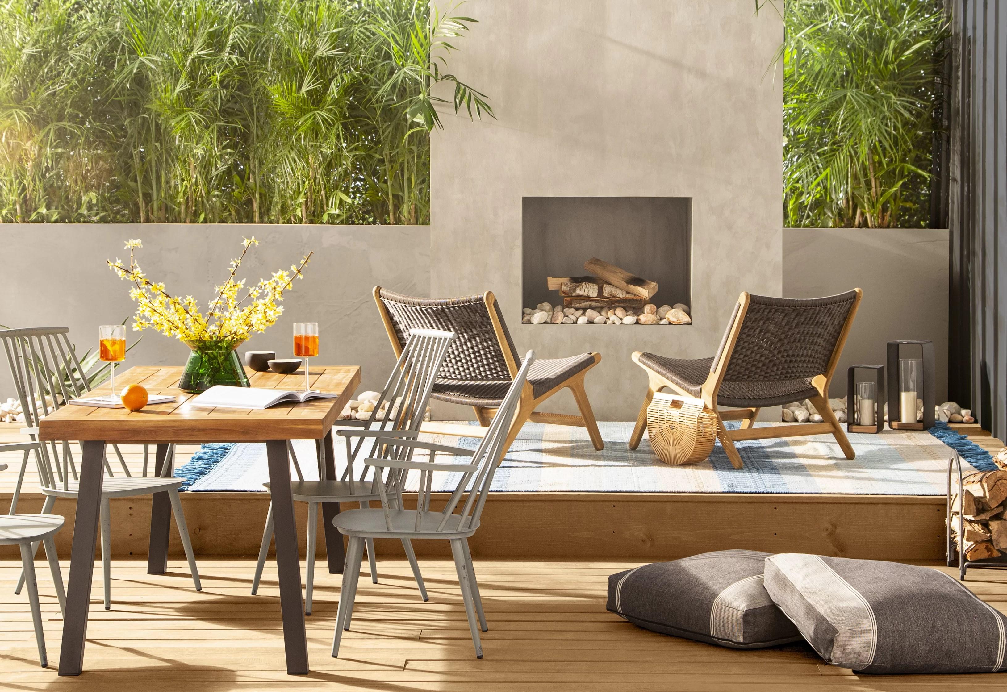 9 outdoor fireplace designs ideas