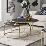 Everly Quinn Dupont 2 Piece Coffee Table Set Reviews
