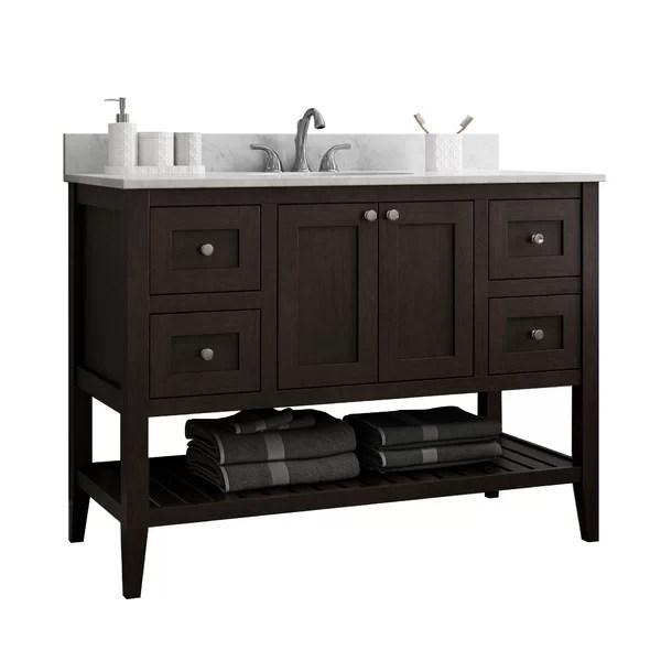 bathroom vanity no sink