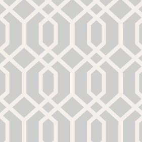 "Essentials 33' x 20.5"" Trellis Montauk Wallpaper Roll"