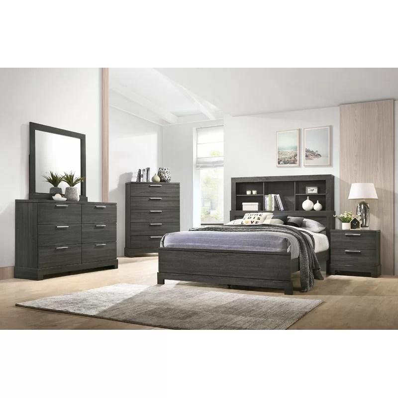 sunnydale upholstered standard configurable bedroom set