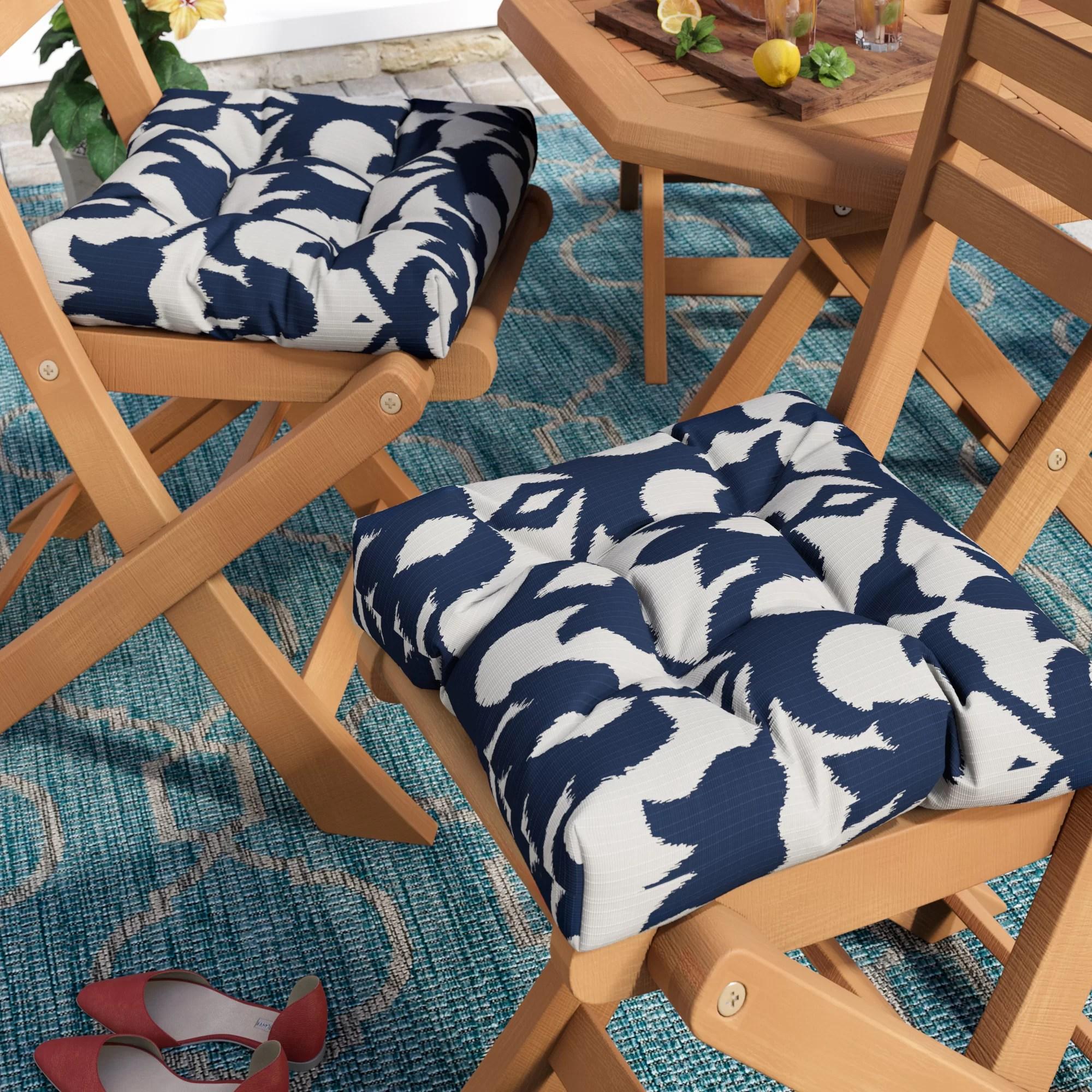 Edmond Indoor Outdoor Dining Chair Cushion