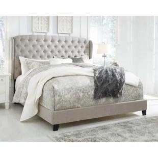 watsonville queen upholstered standard configurable bedroom set
