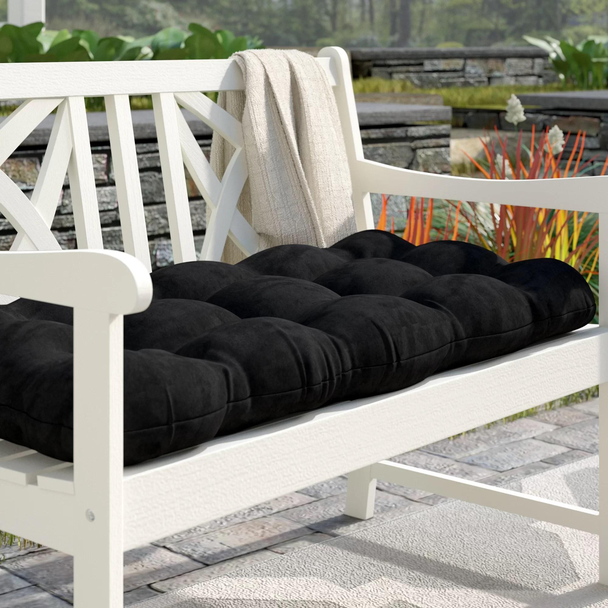 Charlton Home Sewn Indoor Bench Cushion Reviews Wayfair