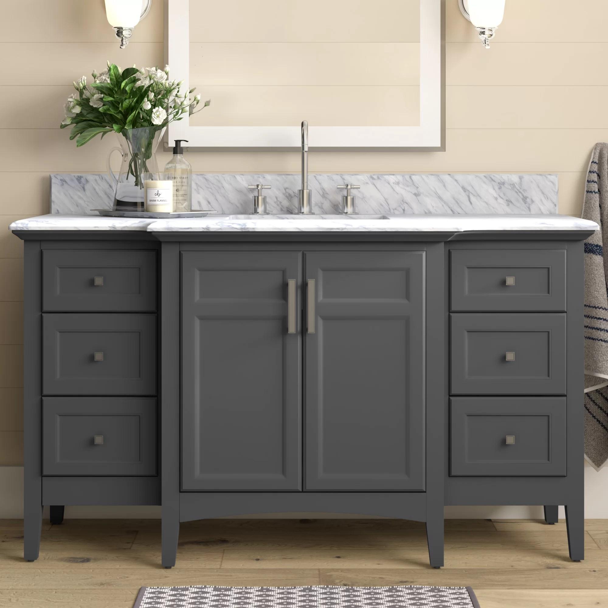 56 60 bathroom vanities free