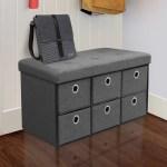 Winston Porter Truax Upholstered Storage Bench Reviews Wayfair