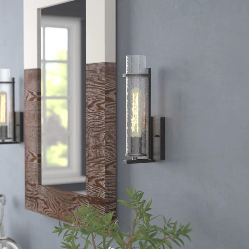 Trent Austin Design® Wetumka 1-Light Bath Sconce & Reviews ... on Wayfair Bathroom Sconces id=38805