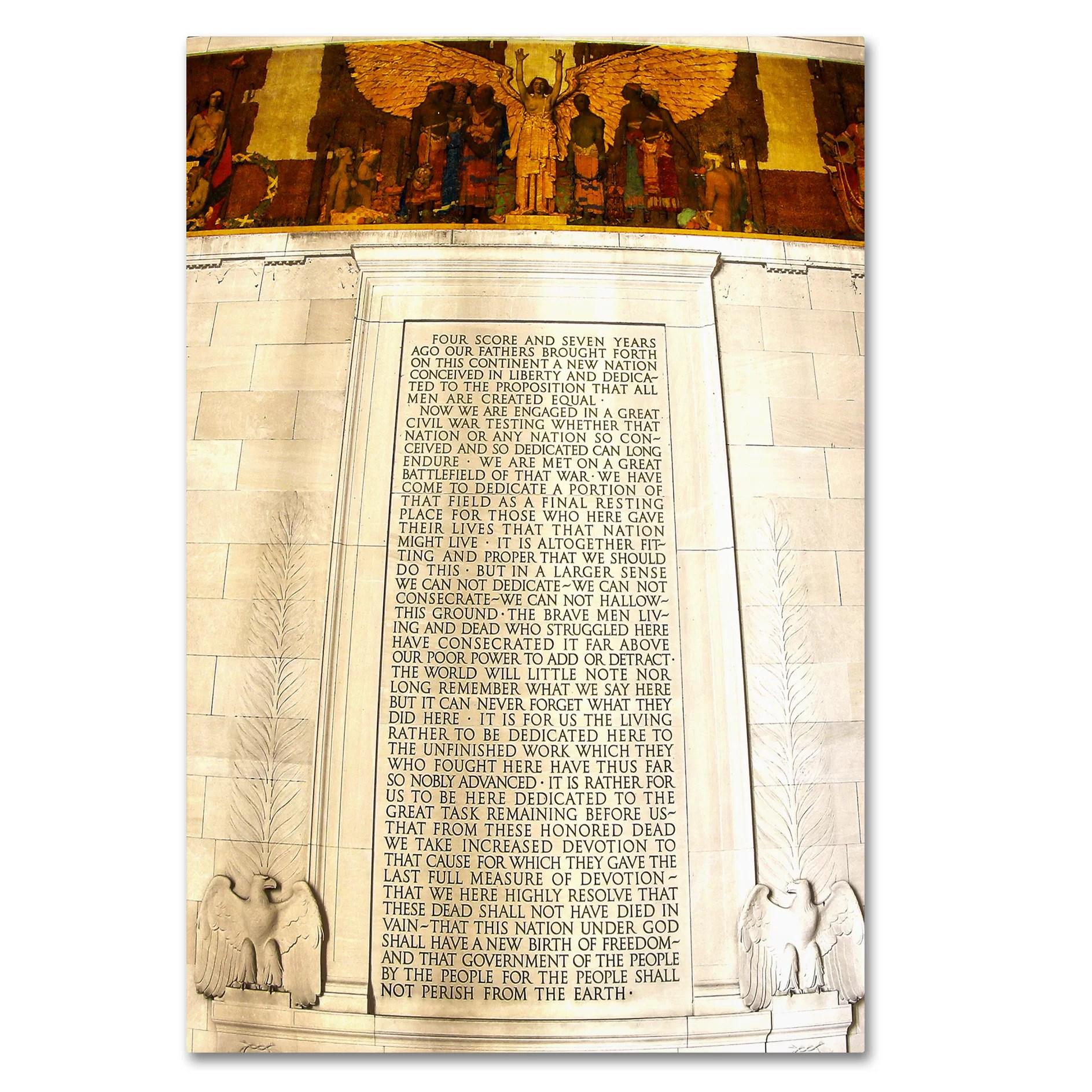 Versatile Gettysburg Address Printable