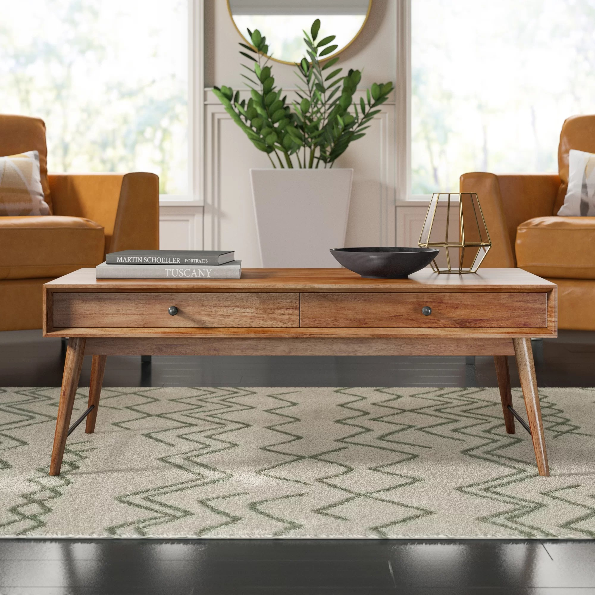 mid century modern coffee tables you ll