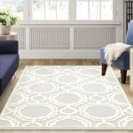 Acushnet Hand Tufted Wool Grey Ivory Area Rug Reviews