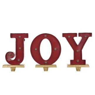 Joy Stocking Holder