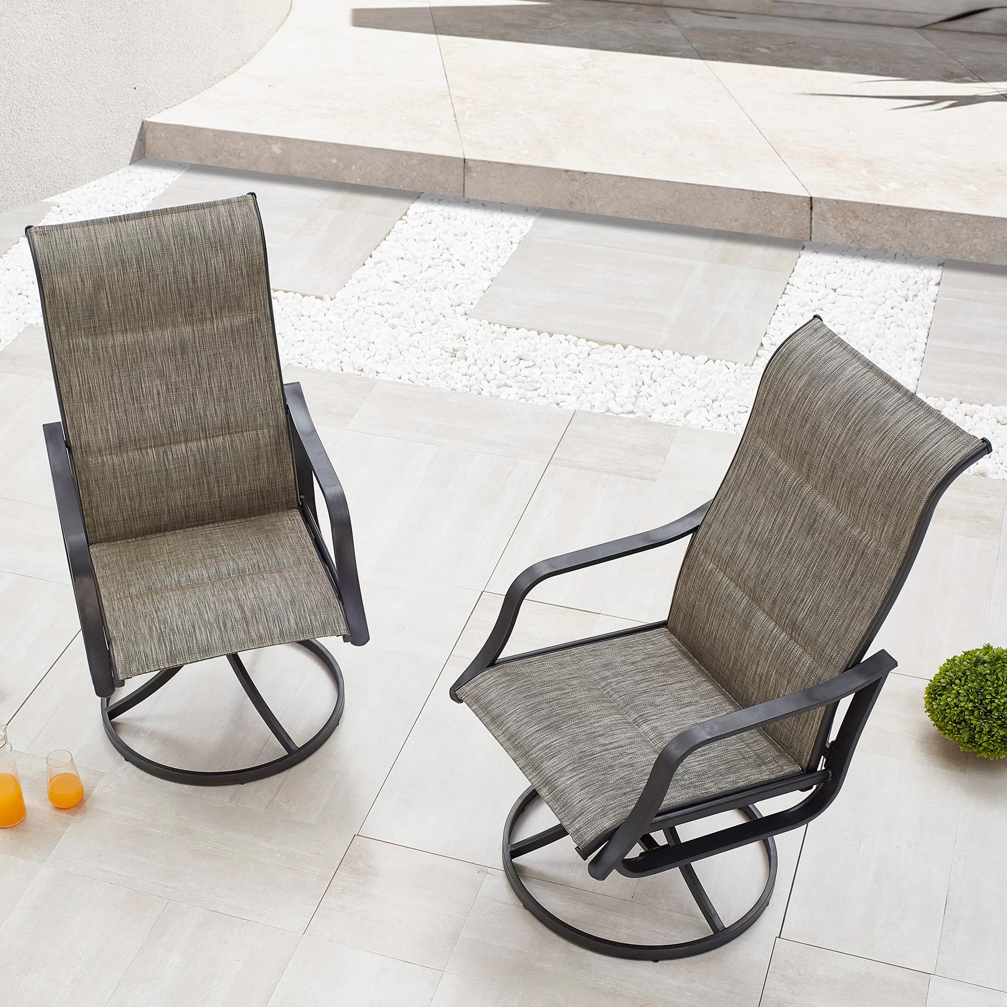 westleigh swivel patio chairs