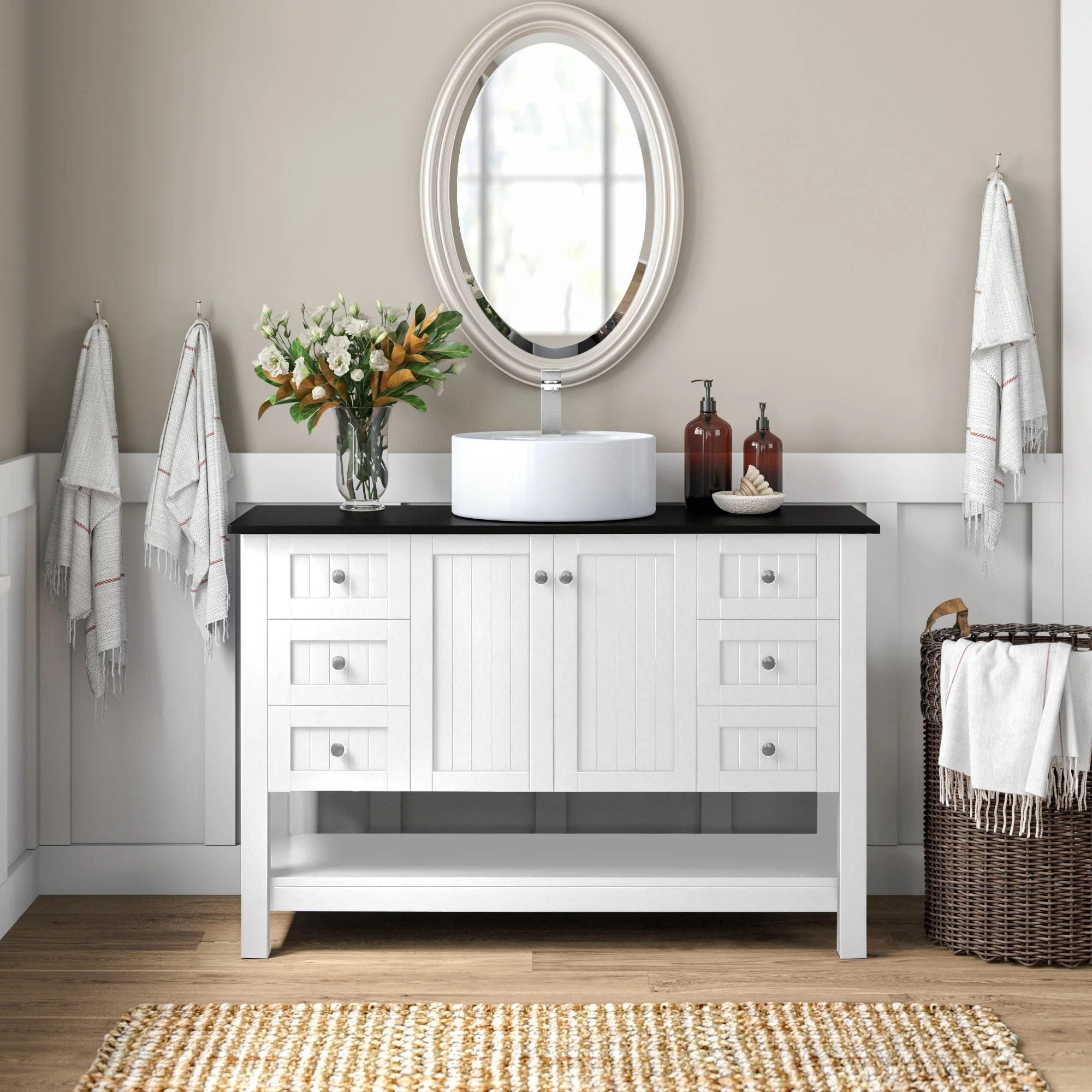 farmhouse bathroom vanities free