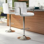 Leather White Bar Stools Counter Stools You Ll Love In 2020 Wayfair