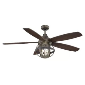 Farmhouse   Rustic Ceiling Fans   Birch Lane 52  Wilburton 5 Blade Ceiling Fan with Remote