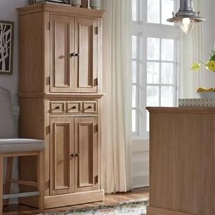 Farmhouse Rustic Kitchen Pantry Cabinets Birch Lane
