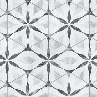 kathryn hexagon 7 x 8 porcelain field tile