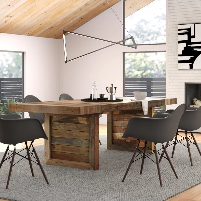 triston extendable solid wood dining table reviews on solid wood dining table id=58803