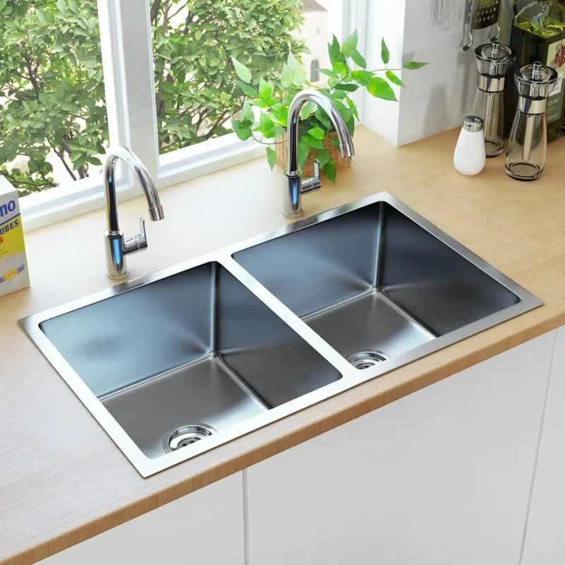 mariel double bowl undermount kitchen sink