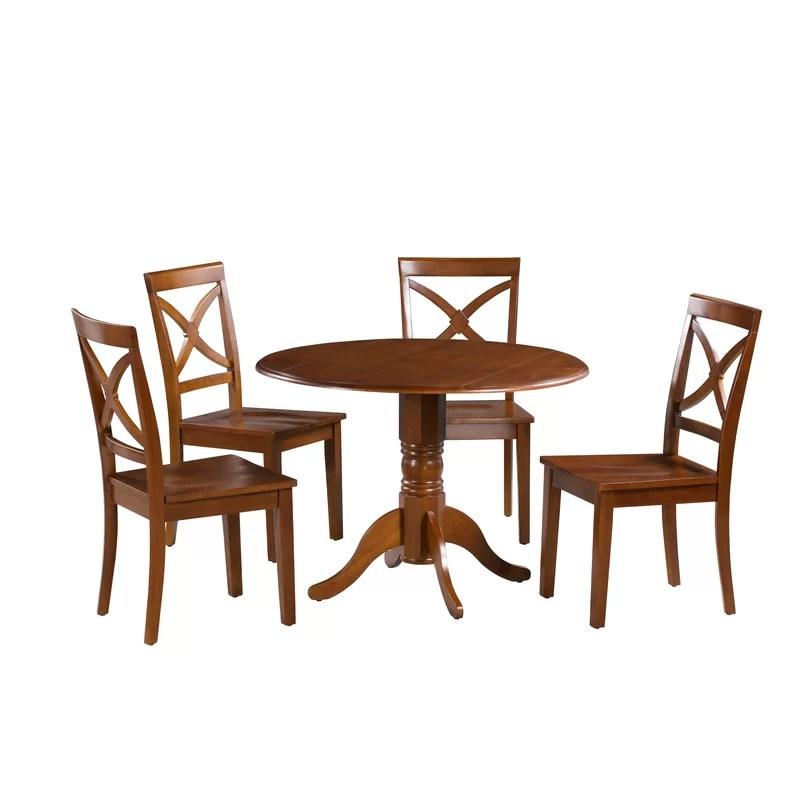 Montecito 5 Piece Drop Leaf Dining Set