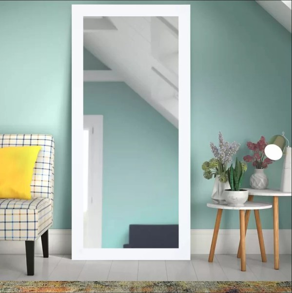 Dalessio Wide Tall Full Length Mirror by Wrought Studios