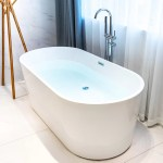 Kdk Home 55 X 28 Freestanding Soaking Bathtub Reviews Wayfair