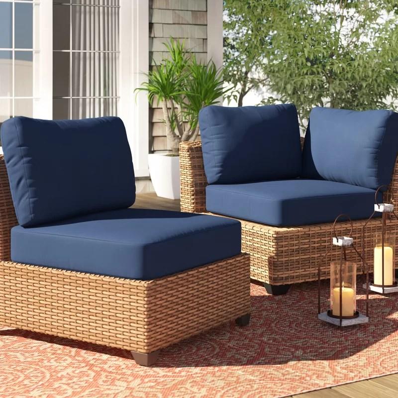 13 piece indoor outdoor replacement cushion set