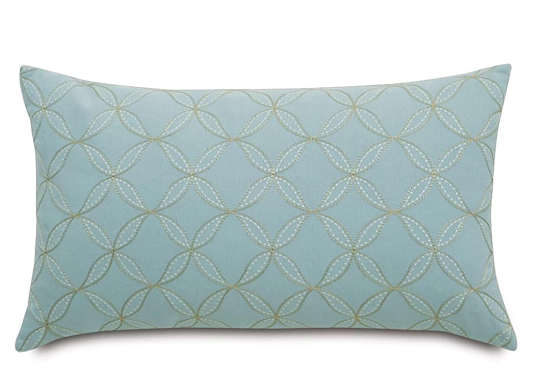 eastern accents magnolia geometric linen geometric lumbar pillow reviews wayfair