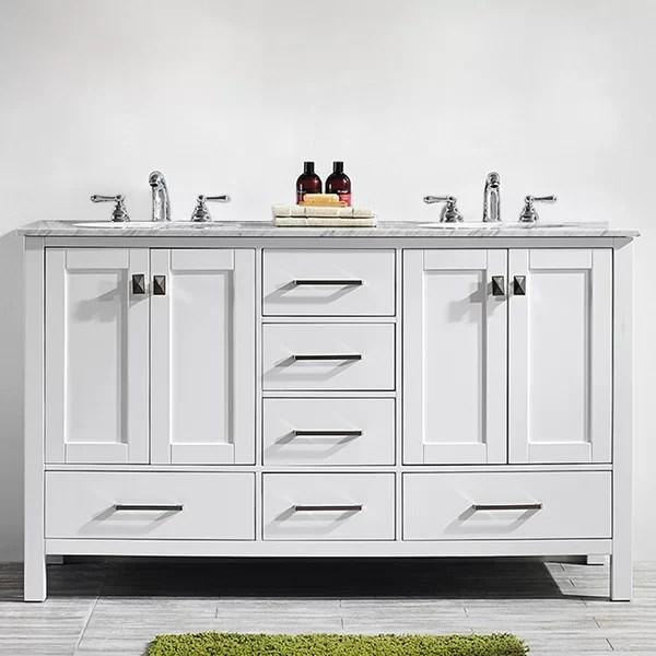 newtown 60 double bathroom vanity set