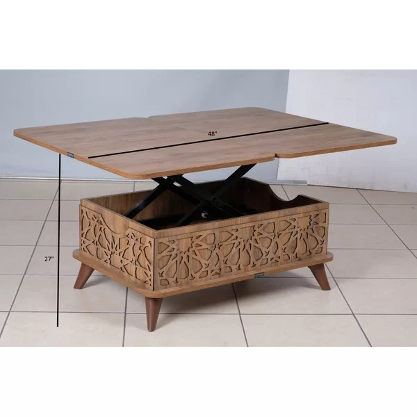 fennel lift top coffee table