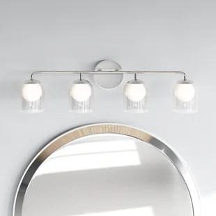 modern chrome vanity lighting allmodern