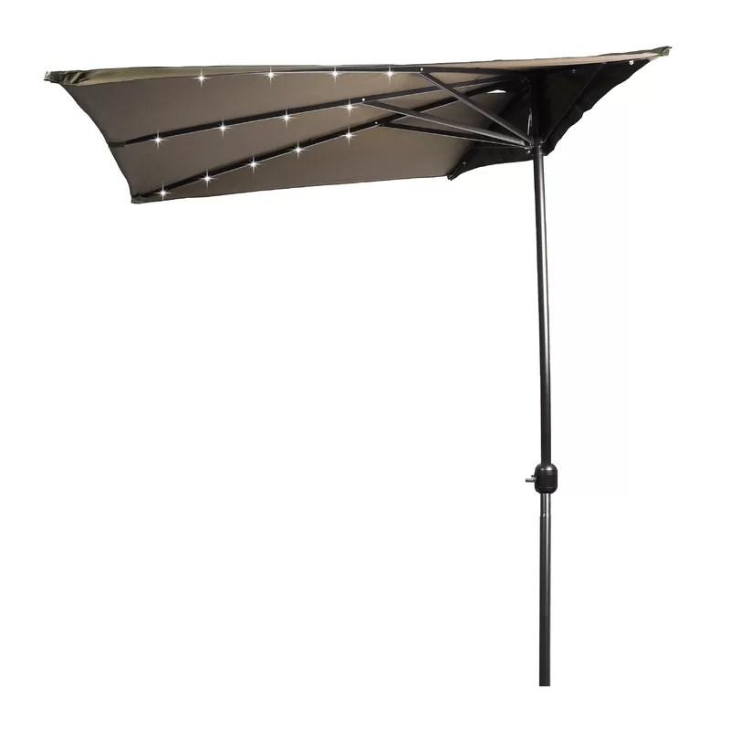mcrae 78 lighted market umbrella