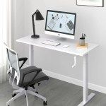Symple Stuff Hambrook Manual Height Adjustable Standing Desk Reviews